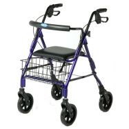 4 Wheeled Walkers / Rollators