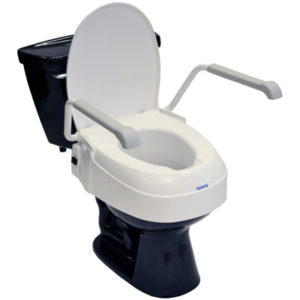 Living Well Angle Adjustable Toilet Seat Raiser