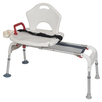 Living Well Folding Universal Sliding Transfer Bench