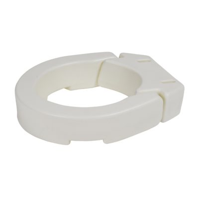 Living Well Hinged Toilet Seat Riser