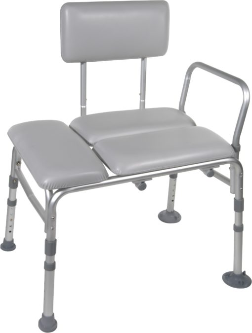 Living Well Padded Seat Transfer Bench