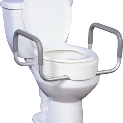 Raised Toilet Seats With Arms