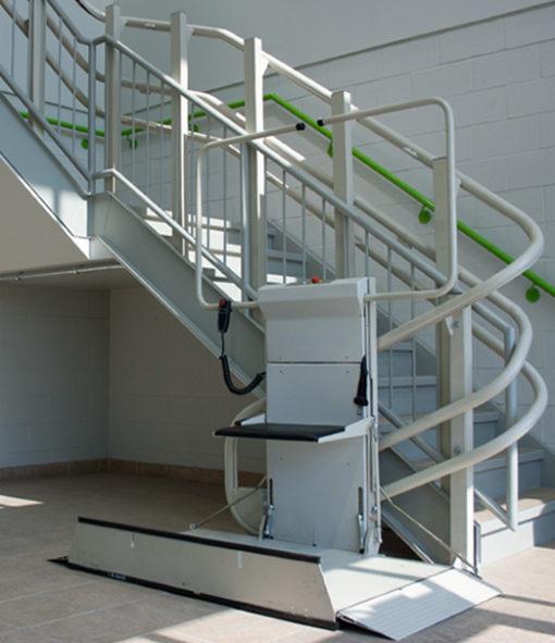 Living Well Omega Inclined Platform Lift
