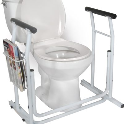 Living Well Stand Alone Toilet Safety Rail
