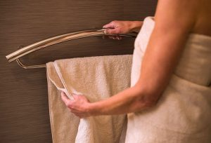 Living Well Specialty Grab Bar Towel Bar & Integrated Support Rail