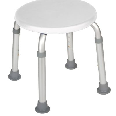 Living Well Adjustable Height Bath Stool