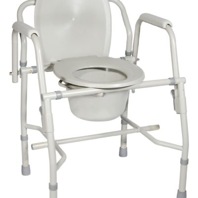 Living Well Drop Arm Commode
