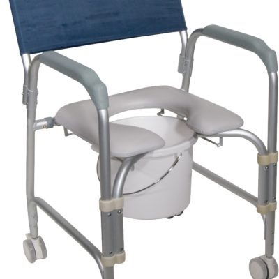 Living Well Lightweight Shower Commode