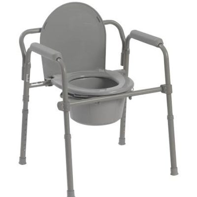 Living Well Standard Folding Commode