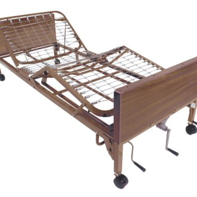 Living Well Manual Hospital Bed