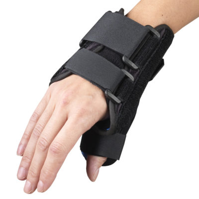 "Living Well OTC 2086 6"" Wrist-Thumb-Splint-Spica"