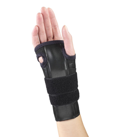 Living Well OTC 2351 Elastic Cock-up Wrist Splint - Reversible