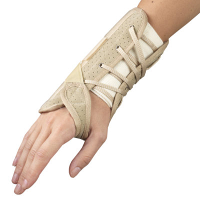 Living Well OTC 2360 Suede Finish Wrist Brace