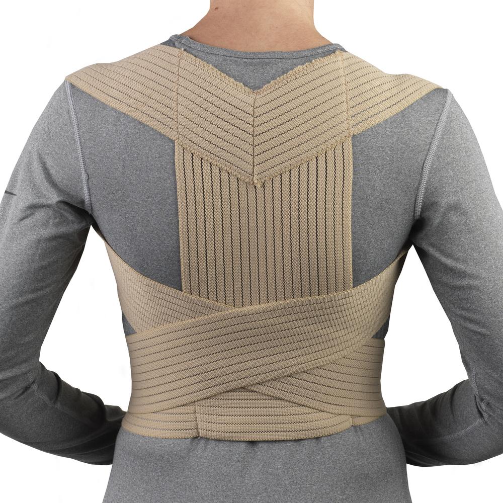 Living Well Hme Otc 2452 Posture Support Lightweight Elastic Corrector Shoulder Elastis
