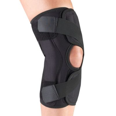 Living Well OTC 2540R Orthotex Knee Stabilizer Wrap for OA, Right