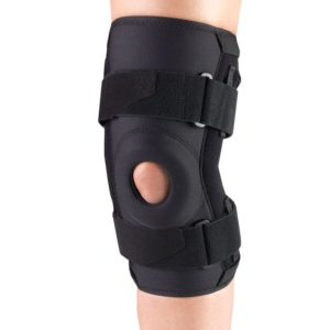 Living Well OTC 2543 Orthotex Knee Stabilizer - Hinged Bars