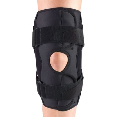 Living Well OTC 2544 Orthotex Knee Stabilizer Wrap - Hinged Bars