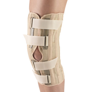 Living Well OTC 2545 Knee Support - Condyle Pads, Front Opening