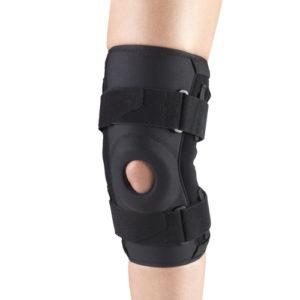 Living Well OTC 2548 Orthotex Knee Stabilizer - Rom Hinged Bars