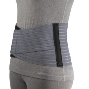 "Living Well OTC 2889 7"" Lightweight Elastic Lumbosacral Support"