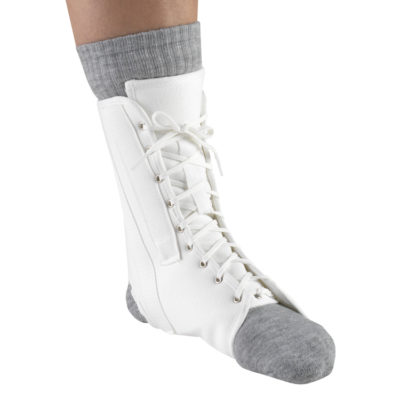 Living Well OTC 2372 Canvas Ankle Splint