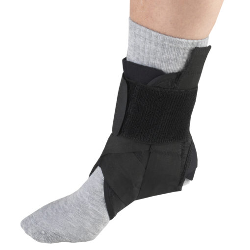 Living Well OTC 2375 Ankle Stabilizer - Heel Locking Straps