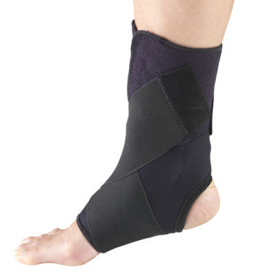 Living Well OTC 2547 Ankle Support - Wrap Around Strap