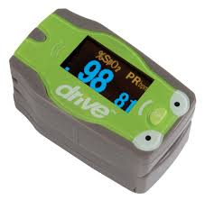 Living Well Pediatric Fingertip Pulse Oximeter