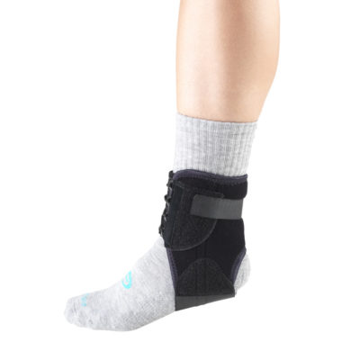 Living Well C-214 Ankle Stabilizer with Medial-Lateral Stays
