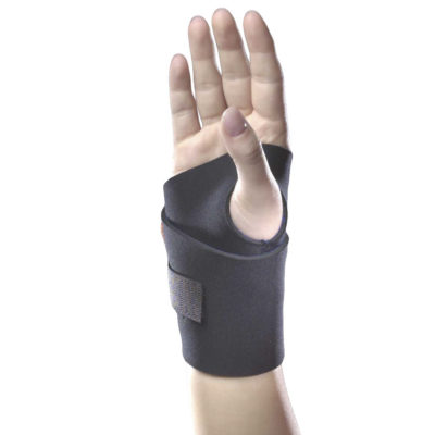 Living Well C-218 Neoprene Wraparound Wrist Support