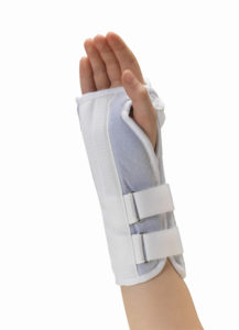 Living Well C-322 KidsLine Soft Foam Wrist Splint
