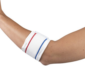 L:iving Well C-43 Tennis Elbow Strap White