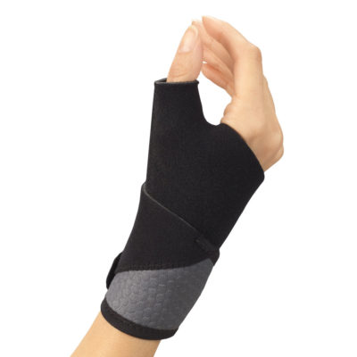 Living Well C-445 Airmesh Wrist-Thumb Support