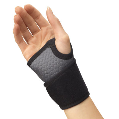Living Well C-446 Airmesh Wrist Wrap Support