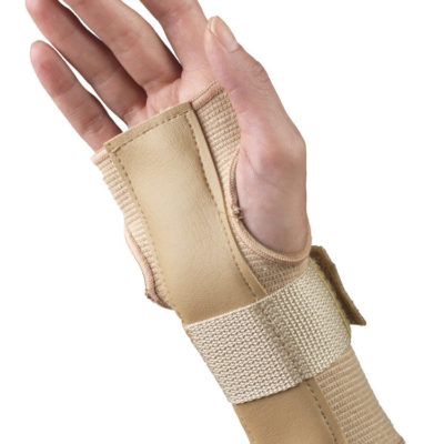 Living Well C-50 Elastic Pullover Wrist Splint - Reversible