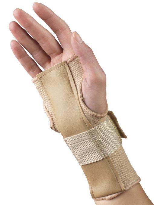 Living Well C-50 Elastic Pullover Wrist Splint - Reversible
